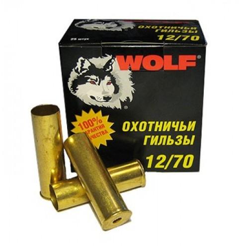 Гильза латунная 12 калибра для снаряжения патронов. Пр-во Россия.