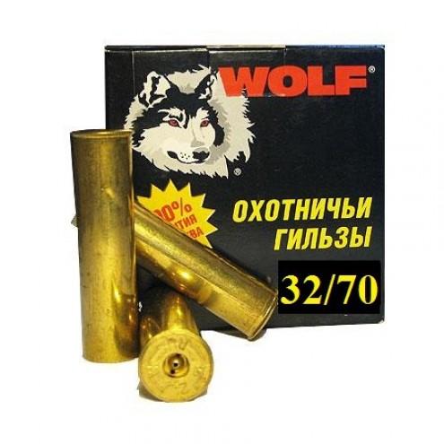 Гильза латунная 32 калибра для снаряжения патронов. Пр-во Россия.