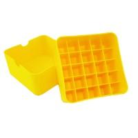 Коробка для патронов Супердак (Superduck) на 25 патронов 12 калибра желтая