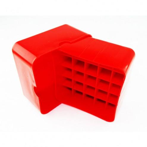 Коробка для патронов Супердак (Superduck) на 25 патронов 12 калибра красная
