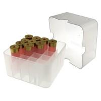 Коробка для патронов Супердак (Superduck) на 25 патронов 12 калибра белая