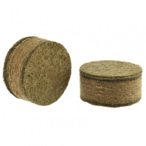 Пыжи 20 клб древесно-волокнистые осаленные высотой 15мм (100шт) пр-ва Военохот