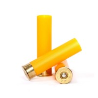 Гильза п/э не капсулир. Cheddite 20 калибра 70мм для снаряжения патронов, осн. 16мм. Цвет желтый.