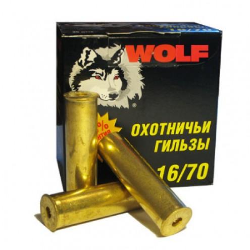 Гильза латунная 16 калибра для снаряжения патронов. Пр-во Россия.