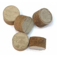 Пыжи 12 клб древесно-волокнистые не осаленные высотой 10мм (200шт) под пластиковую гильзу пр-ва Плес