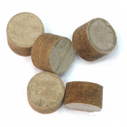 Пыжи 16 клб древесно-волокнистые неосаленные (200шт) пр-ва КЗОРС