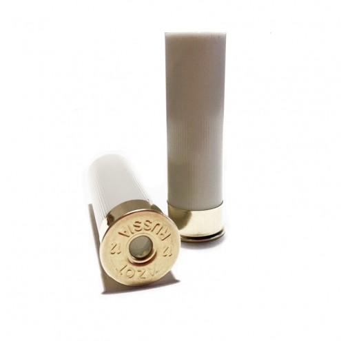 Гильза п/э не капсулир. Азот 12 калибра 70мм для снаряжения патронов, осн.12мм. Цвет белый (НОВАЯ)
