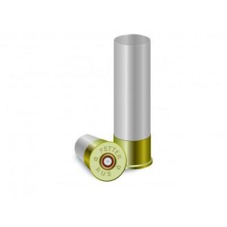 Гильза п/э не капсулир. Cheddite 16 калибра 70мм для снаряжения патронов, осн. 16мм. Цвет белый полу-прозрачный