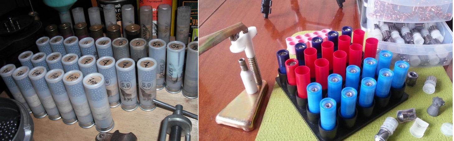 фото до и после закрутки патронов