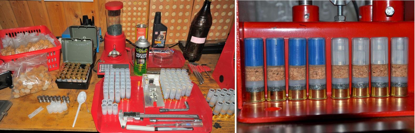 станки для снаряжения патронов 12 калибра
